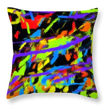 Abstract 2 Throw Pillow by Chris Butler