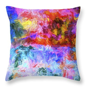 Abstract Artwork 20 Throw Pillow