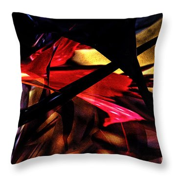 Abstract 2013 Throw Pillow by Gerlinde Keating - Galleria GK Keating Associates Inc