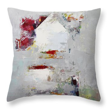 Abstract 2015 04 Throw Pillow