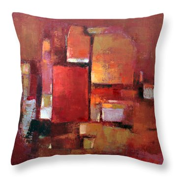Abstract 2015 05 Throw Pillow