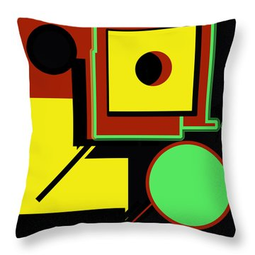 Abstract 2015 Throw Pillow