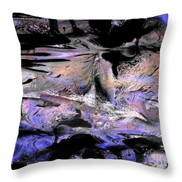 Abstract 2017 Throw Pillow