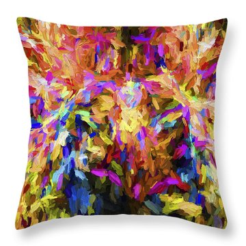 Abstract Artwork 21 Throw Pillow