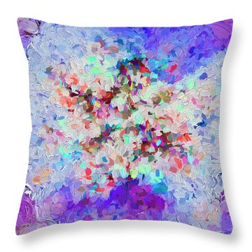 Abstract Series 23 Throw Pillow
