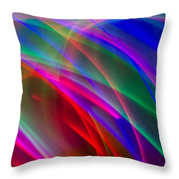 Abstract 23 Throw Pillow