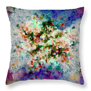 Abstract Series 24 Throw Pillow