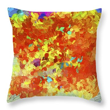 Abstract Series 25 Throw Pillow