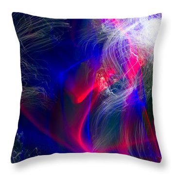 Abstract 25 Throw Pillow