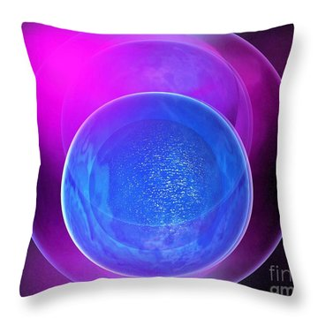 Abstract 250-2014 Throw Pillow by John Krakora