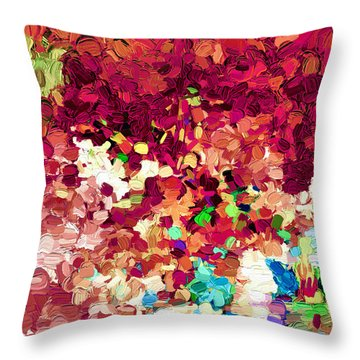 Abstract Series 26 Throw Pillow