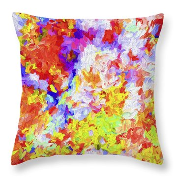Abstract Series 27 Throw Pillow