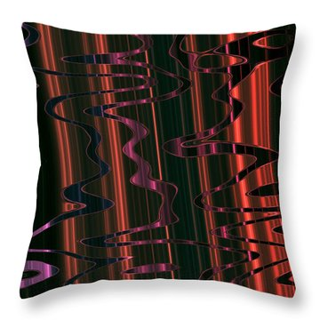 Abstract 327 Throw Pillow