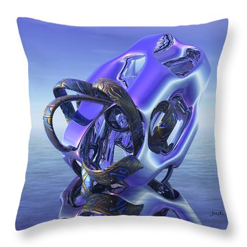 Abstract 333 Throw Pillow