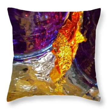 Abstract 3653 Throw Pillow by Stephanie Moore