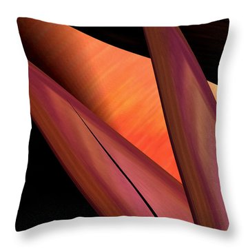 Abstract 455 Throw Pillow