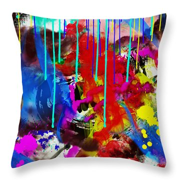 Abstract 6832 Throw Pillow