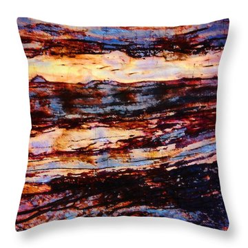 Abstract 87 Throw Pillow by Timothy Bulone