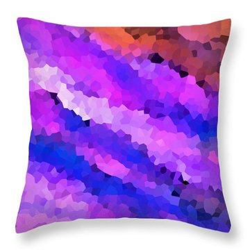 Abstract 89 Throw Pillow by Timothy Bulone