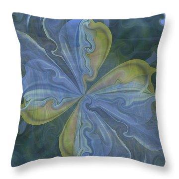 Abstract A023 Throw Pillow by Maria Urso