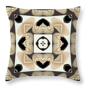 Abstract A029 Throw Pillow by Maria Urso