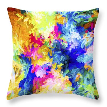 Abstract Series A10 Throw Pillow