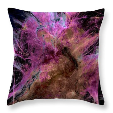 Abstract Series A2 Throw Pillow