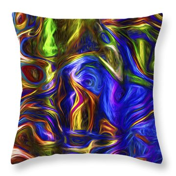 Abstract Series A3 Throw Pillow