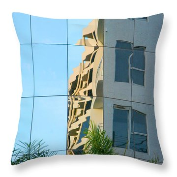 Abstract Architectural Shapes Throw Pillow