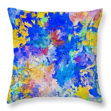 Abstract Series B10 Throw Pillow