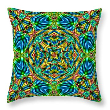 Abstract B33 Throw Pillow