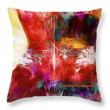 Abstract Series B8 Throw Pillow