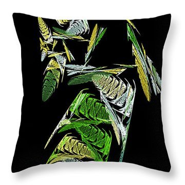 Abstract Bugs Vertical Throw Pillow by Andee Design
