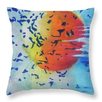 Abstract Throw Pillow by Chrisann Ellis