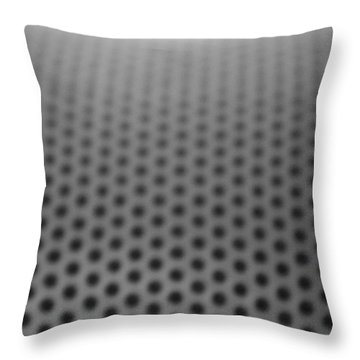 Abstract Coal Throw Pillow by Stanislav Killer
