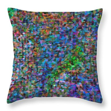 Abstract Colorfull  Art Throw Pillow