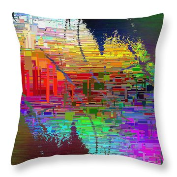 Abstract Cubed 25 Throw Pillow