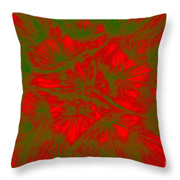 Throw Pillow featuring the photograph Abstract Dandelion Bloom by Mae Wertz