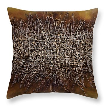 Abstract Design 81 Throw Pillow by Michael Lang