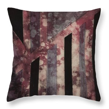 Abstract Design Throw Pillow