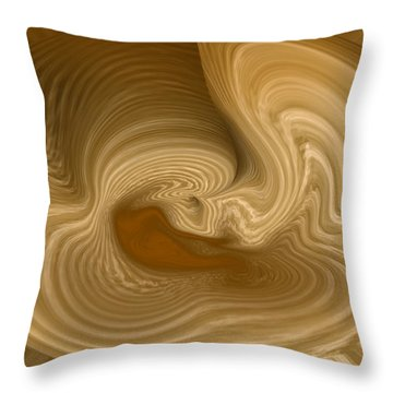 Throw Pillow featuring the photograph Abstract Design by Charles Beeler