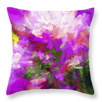 Abstract Ex3 Throw Pillow