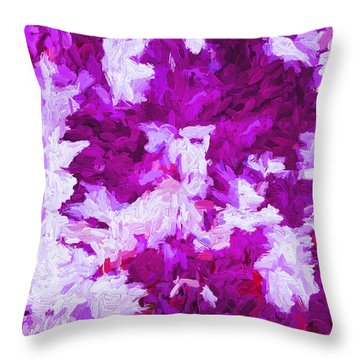 Abstract Ex4 Throw Pillow