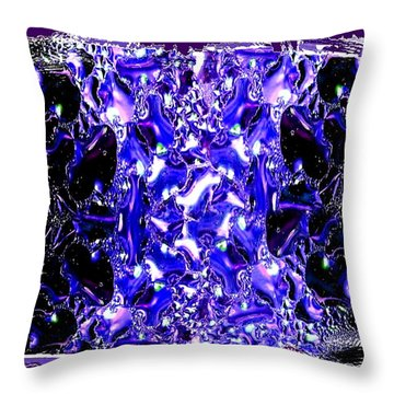 Abstract Fusion 117 Throw Pillow by Will Borden