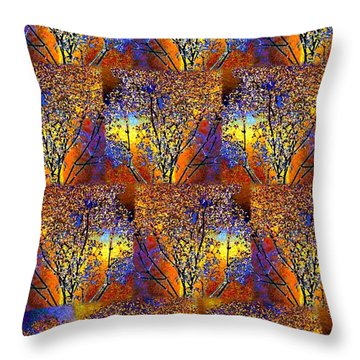 Abstract Fusion 142  Throw Pillow