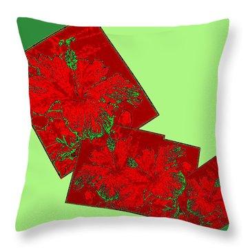 Abstract Fusion 172 Throw Pillow