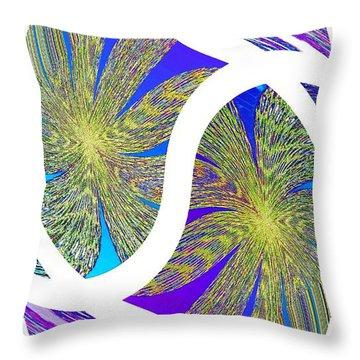 Abstract Fusion 203 Throw Pillow