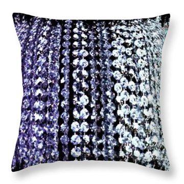 Throw Pillow featuring the digital art Abstract Fusion 219 by Will Borden