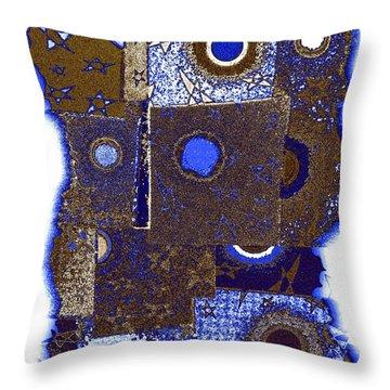 Abstract Fusion 225 Throw Pillow