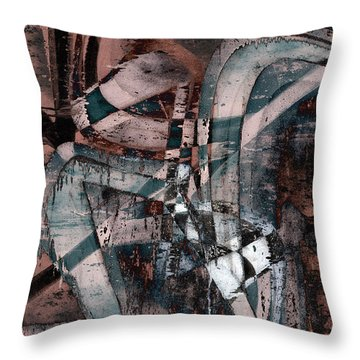 Abstract Graffiti 1 Throw Pillow